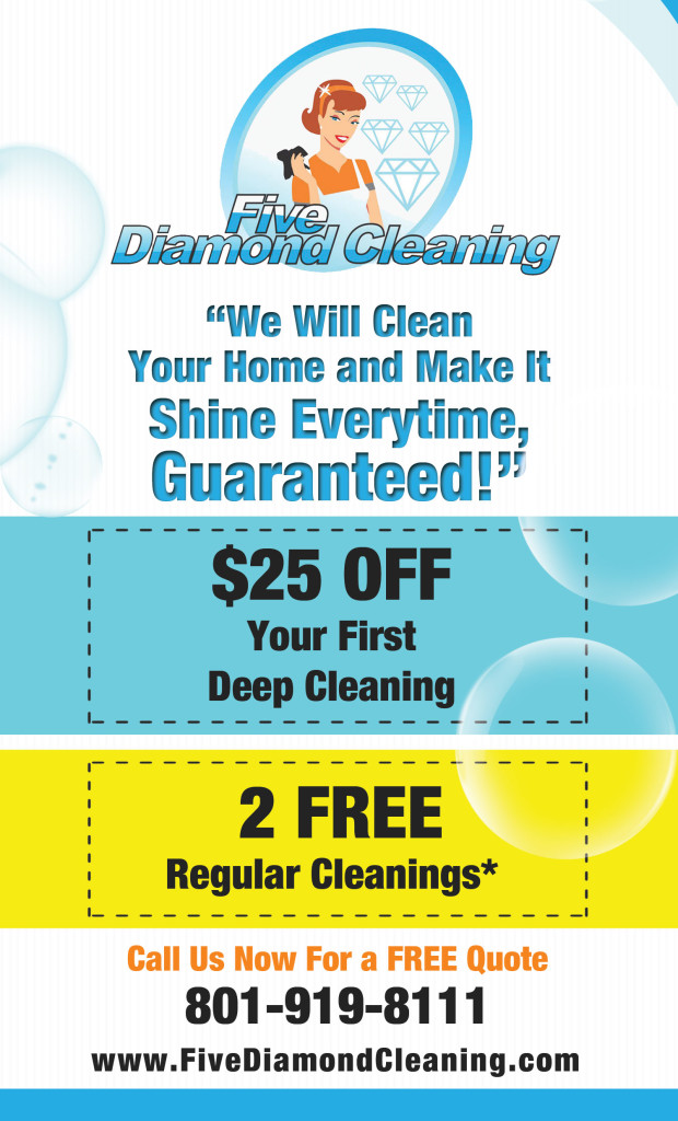 Salt Lake City Cleaning Coupons